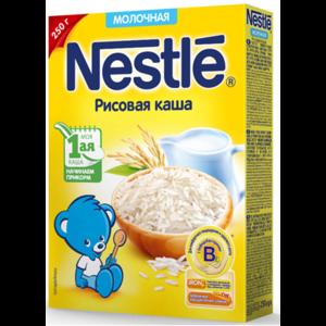 Детское питание Nestle Молочная рисовая каша фото