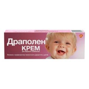 Антисептическое средство GlaxoSmithKline Pharmaceuticals SA Детский крем Драполен фото