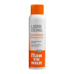 Аэрозоль Librederm Пантенол спрей для наружного применения при различных повреждениях кожи 5% фото