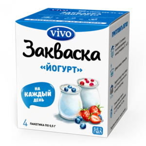 Закваска Vivo Йогурт фото