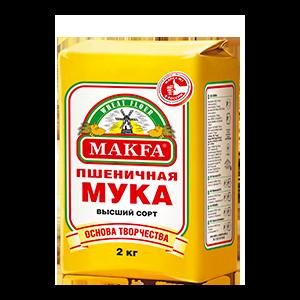 Мука Макфа Пшеничная, Высший сорт фото