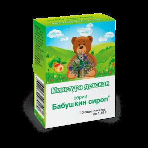 """БАД ООО """"ВИС"""" - """"Бабушкин сироп"""" Микстура детская фото"""