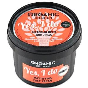 Крем для лица Organic kitchen Mattifying face cream Yes, I do фото