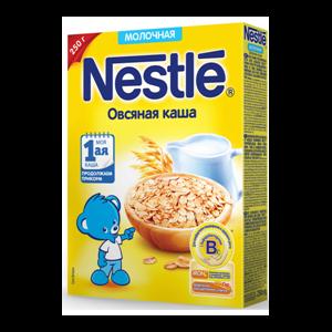 Каша Nestle овсяная молочная фото