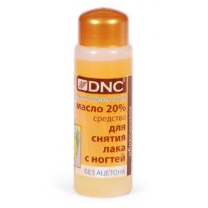 Масло для снятия лака DNC Облепиховое фото