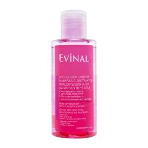 Двухфазный лосьон Evinal для снятия макияжа с экстрактом плаценты Для век и области вокруг глаз фото