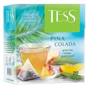 Чай Tess PINA COLADA зеленый чай  фото