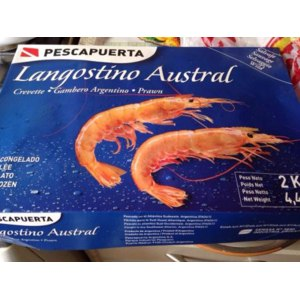 Креветки Pescapuerta (Лангустины) 2 кг фото
