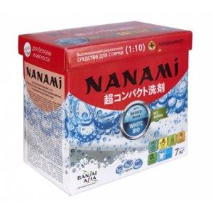 Концентрированный стиральный порошок BanzaiAzia NANAMI WHITE BIO для белого белья  фото