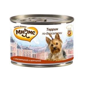 Корм для собак Мнямс Террин по-Версальски фото