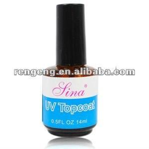 Верхнее покрытие гель-лака для ногтей Aliexpress Free Shipping Led/ Uv TOP COAT ACRYLIC GEL NAIL ART TIPS TOP COAT 14ml/pc#UGT03 фото