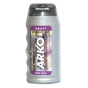 Гель для душа Arko мужской с Алоэ Вера  sport фото