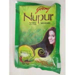 Краска для волос без аммиака Godrei Nupur Хна индийская Godrei Nupur фото