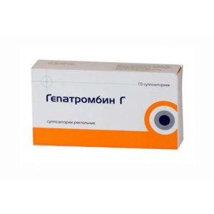 гепатромбин г помогает от геморроя