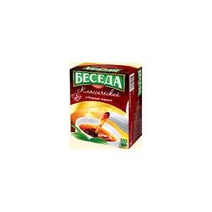 Чай  Беседа Классический отборный черный фото