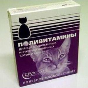 Витамины Ceva для кастрированных и стерилизованных кошек фото