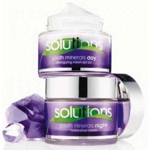 """Крем для лица Avon """"Solutions Youth Minerals"""" дневной и ночной фото"""