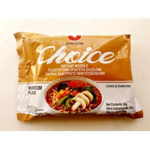 Лапша быстрого приготовления Nongshim Choice Mushroom Flavor фото