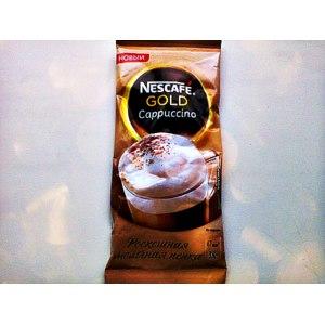 Напиток кофейный растворимый с молочной пенкой Nescafe Gold Cappuccino фото