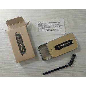 Гель-мыло для бровей Aliexpress 3D Feathery Brows Eyebrow Shaping Cream Brows Makeup Gel Soap Waterproof Long Lasting Eyebrow Setting Gel Brows Kit фото