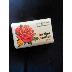 Мыло для лица Невская косметика «Цветы любви» Роза фото