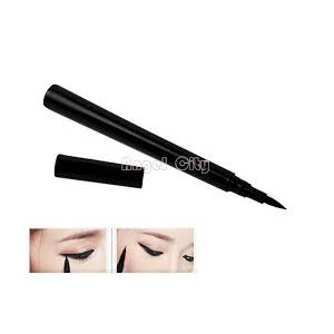 Подводка для глаз Aliexpress Instant Black Quickly Dry Liquid Eyeliner Pen / Cosmetic Eye Liner Pencil Free / Drop Shipping фото