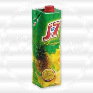 Сок J7 мультифрукт с мякотью фото