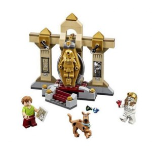 Aliexpress ATOY 10428 Игрушки 109 шт. Scooby Doo Мумия Музей Блоки Minifigures Building Blocks Minifigure фото