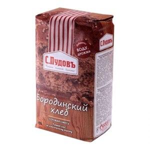 Смесь для выпечки С.Пудовъ Бородинский хлеб фото