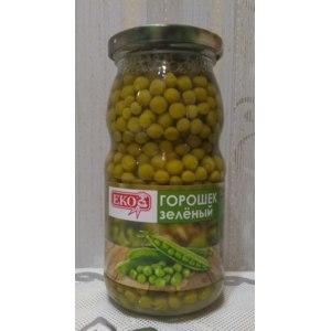 Горошек зеленый консервированный Славянский консервный комбинат Eco фото