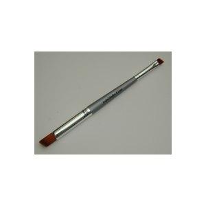 Кисть для теней Angled Shadow & Liner Brush Двойная скошенная (синтетика) фото