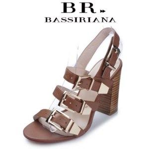 Босоножки Aliexpress BASSIRIANA - summer 2015, fashion women's high heels sandals, genuine leather, free shipping фото
