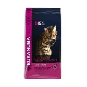 Корм для кошек Eukanuba Sterilised / weight control фото