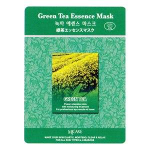 Маска для лица  Mijin Essence Mask Зеленый чай фото