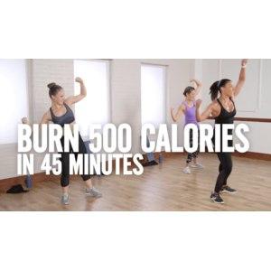 Фитнес-программа Jeanette Jenkins 500 калорий за 45 минут c Джанет Дженкинс фото