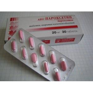 Антидепрессант  АПО - Пароксетин фото