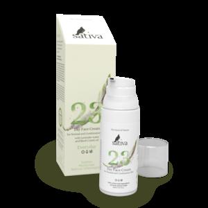 Крем для лица Sativa  №23 для нормального и комбинированного типа кожи фото