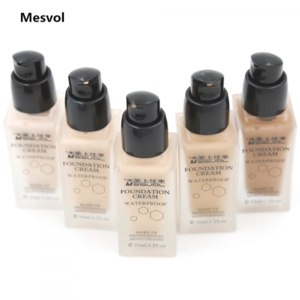 Тональный крем Aliexpress Foundation Cream Liquid Foundation Makeup 1pcs Waterproof Moisturizer Make Up Base 35ml фото
