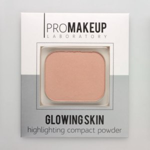 Хайлайтер Promakeuplab Glowing Skin Highlighting Compact Powder фото