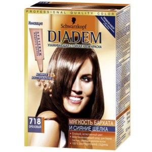 """Краска для волос Schwarzkopf Diadem """"Цвет и питание"""" для сухих фото"""