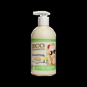 Шампунь ECO hysteria MEGA питание: для сухих и ослабленных волос фото