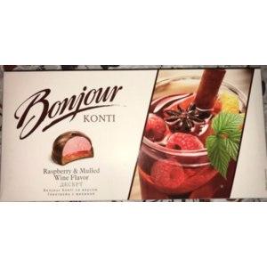 десерт Bonjour Konti глинтвейн с малиной