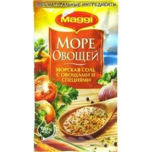 Приправа Maggi Море овощей Морская соль с овощами и специями фото