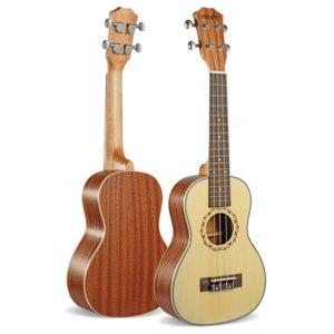 """Укулеле концерт с Aliexpress (SevenAngel 23"""" Concert Ukulele 4 AQUILA Strings Hawaiian Mini Guitar Uku Acoustic Guitar Ukelele 12 Patterns guitarra send gifts) фото"""