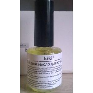 Масло для ногтей Kiki Полезное для кутикулы фото
