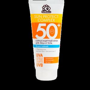 Солнцезащитный водостойкий крем для лица и тела