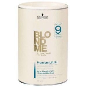 Обесцвечивающая пудра Schwarzkopf BlondMe Premium Performance Lightner 9+ фото