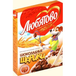Готовые завтраки Любятово Шоколадные шарики фото