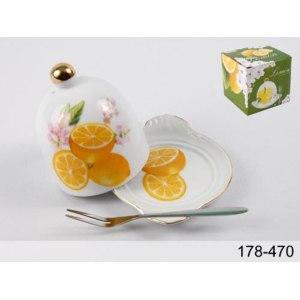 Лимонница Chaozhou Jinbo с вилкой фото