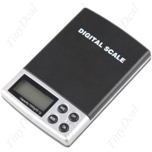 Мини весы (карманные) TinyDeal Accurate Digital Pocket Jewelery Basic Weighing Balance Scale 1000g x 0.1g with Soft Pouch HDS-8544 фото